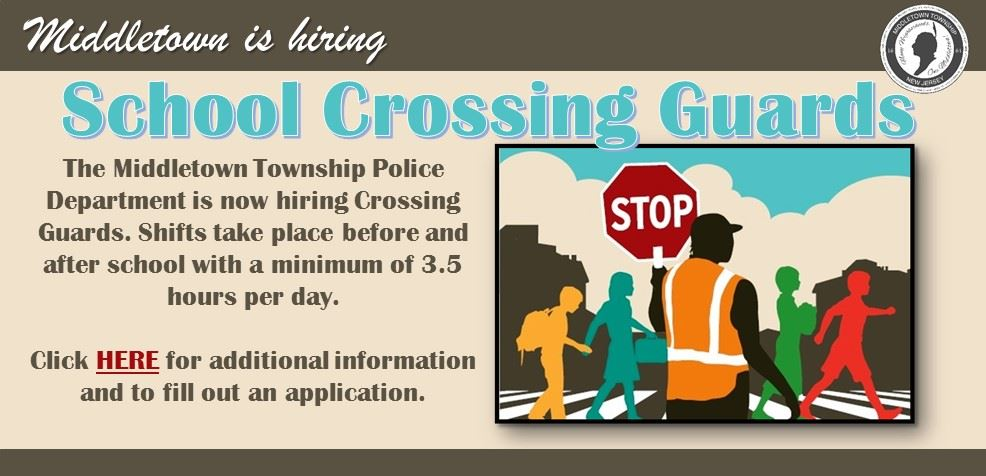 Crossing Guards Openings