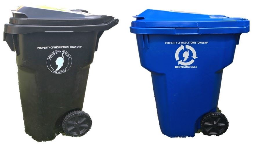 Middletown garbage & recycling carts