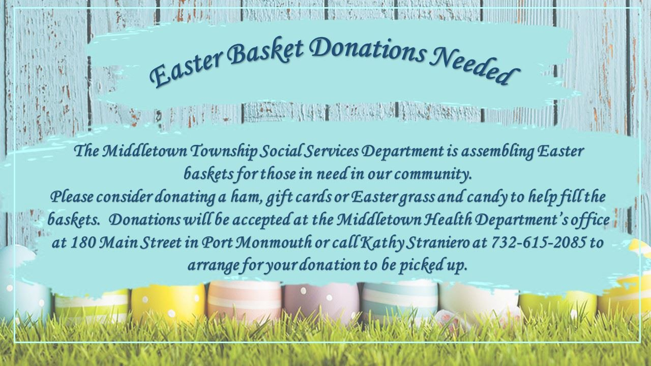 Easter Basket Donations-2019