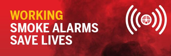 Working Smoke alarms save lives image