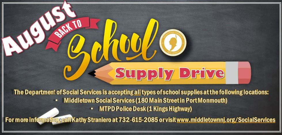 Back to School Drive 2019