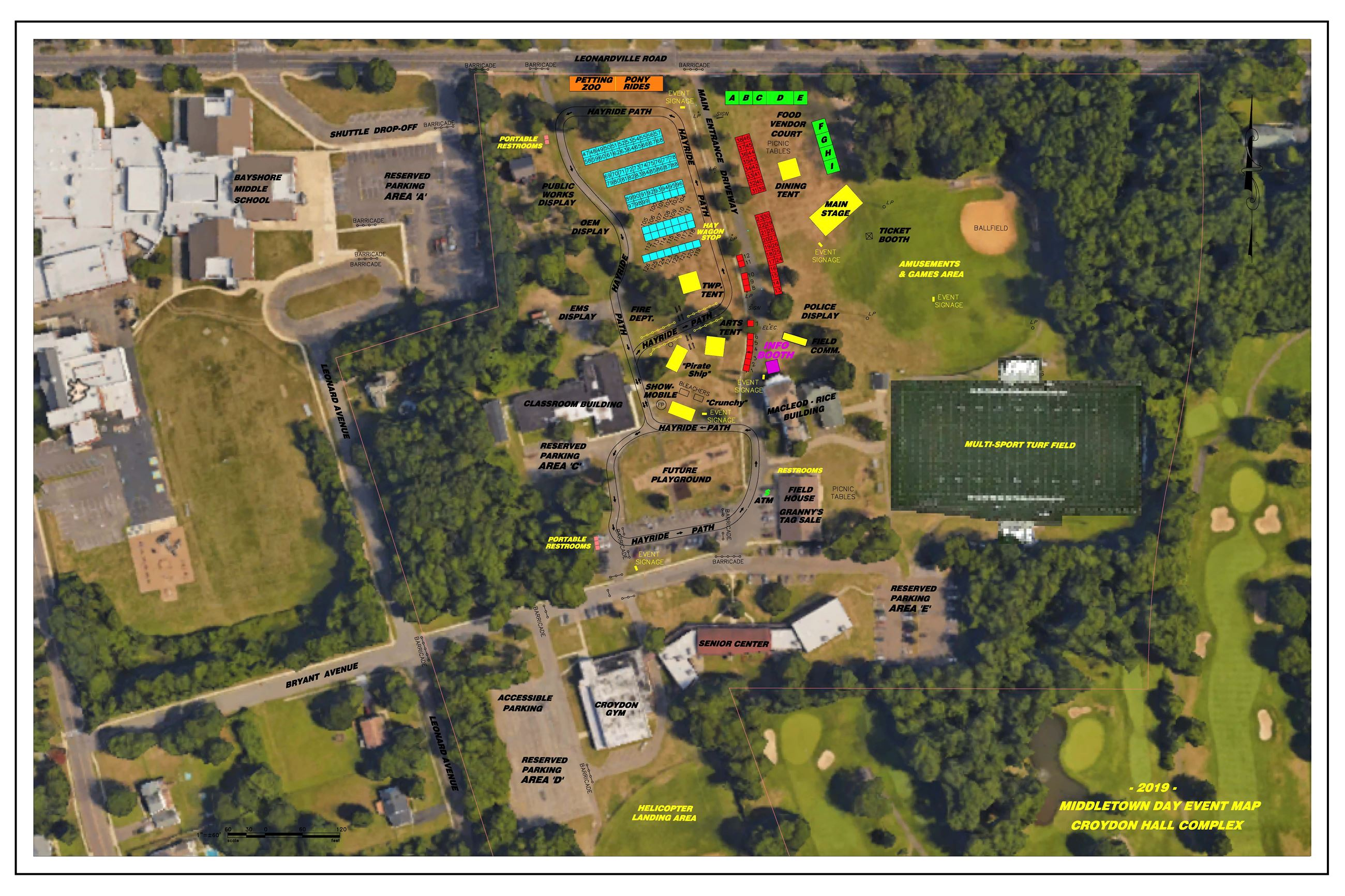 Middletown Day Map 2019