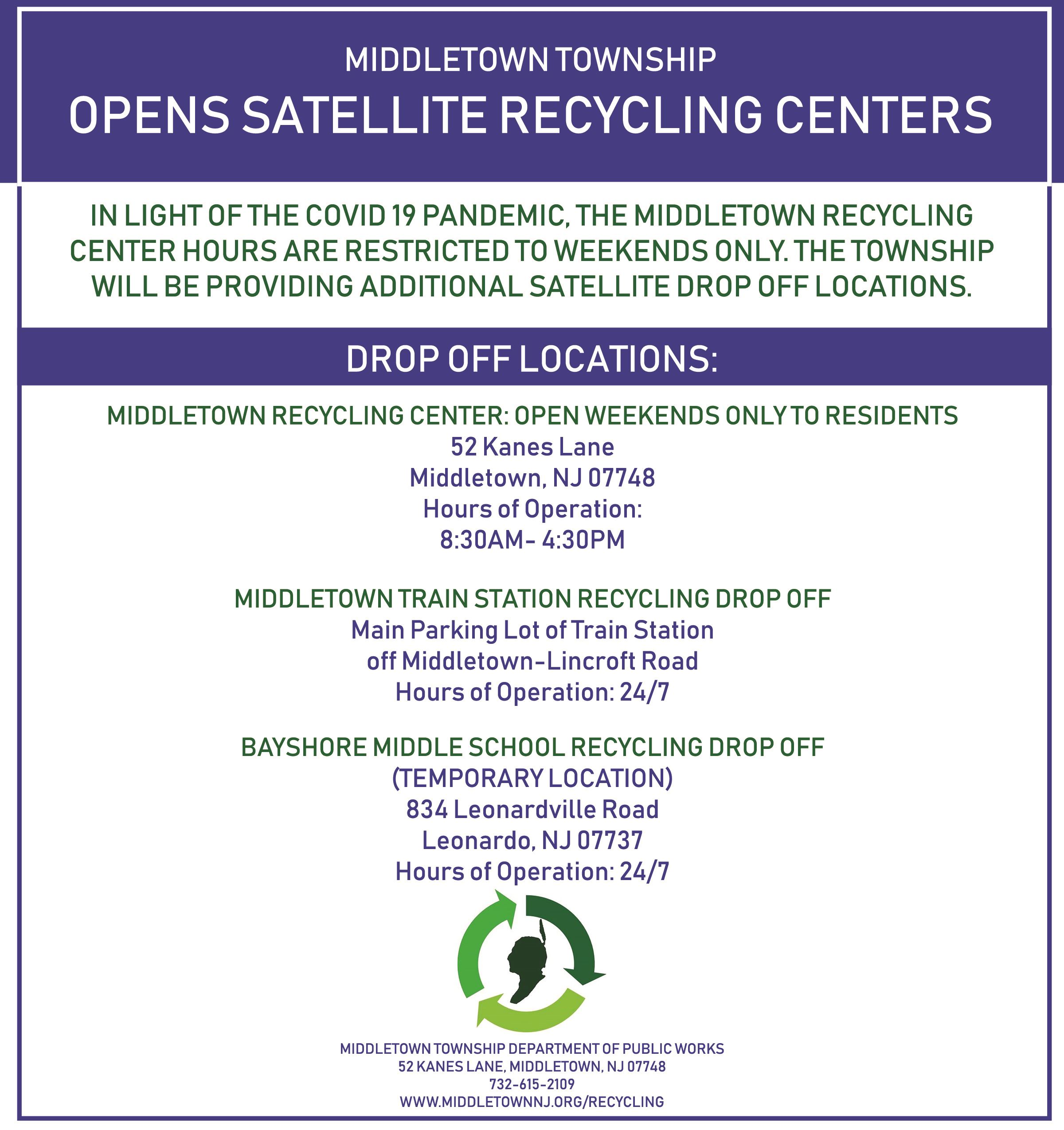 Bayshore Recycling Center Drop Off