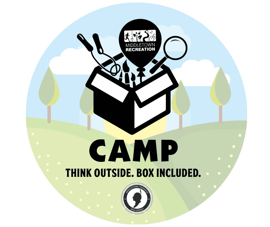 Camp Box Sticker