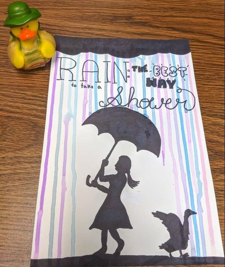 Russell's Rainy Day Art