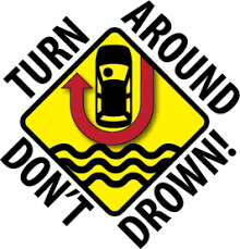 turn around dont drown